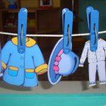 Дидактическая игра «Помогаем маме развесить белье»