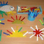 Игры с прищепками для детей 3 лет