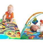 Детские развивающие коврики: полезные рекомендации